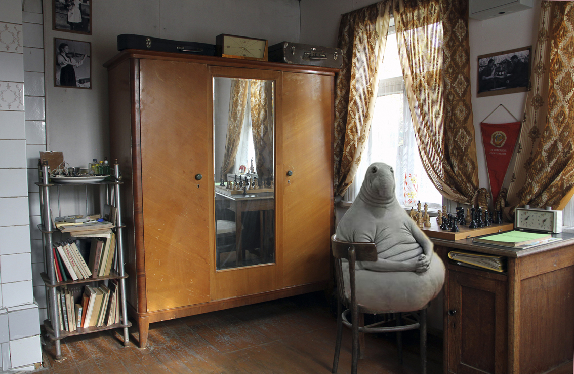 Homunculus Loxodontus at Soviet Dacha in Moscow