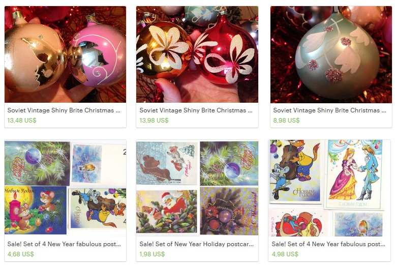 Sale! Christmas decorations!