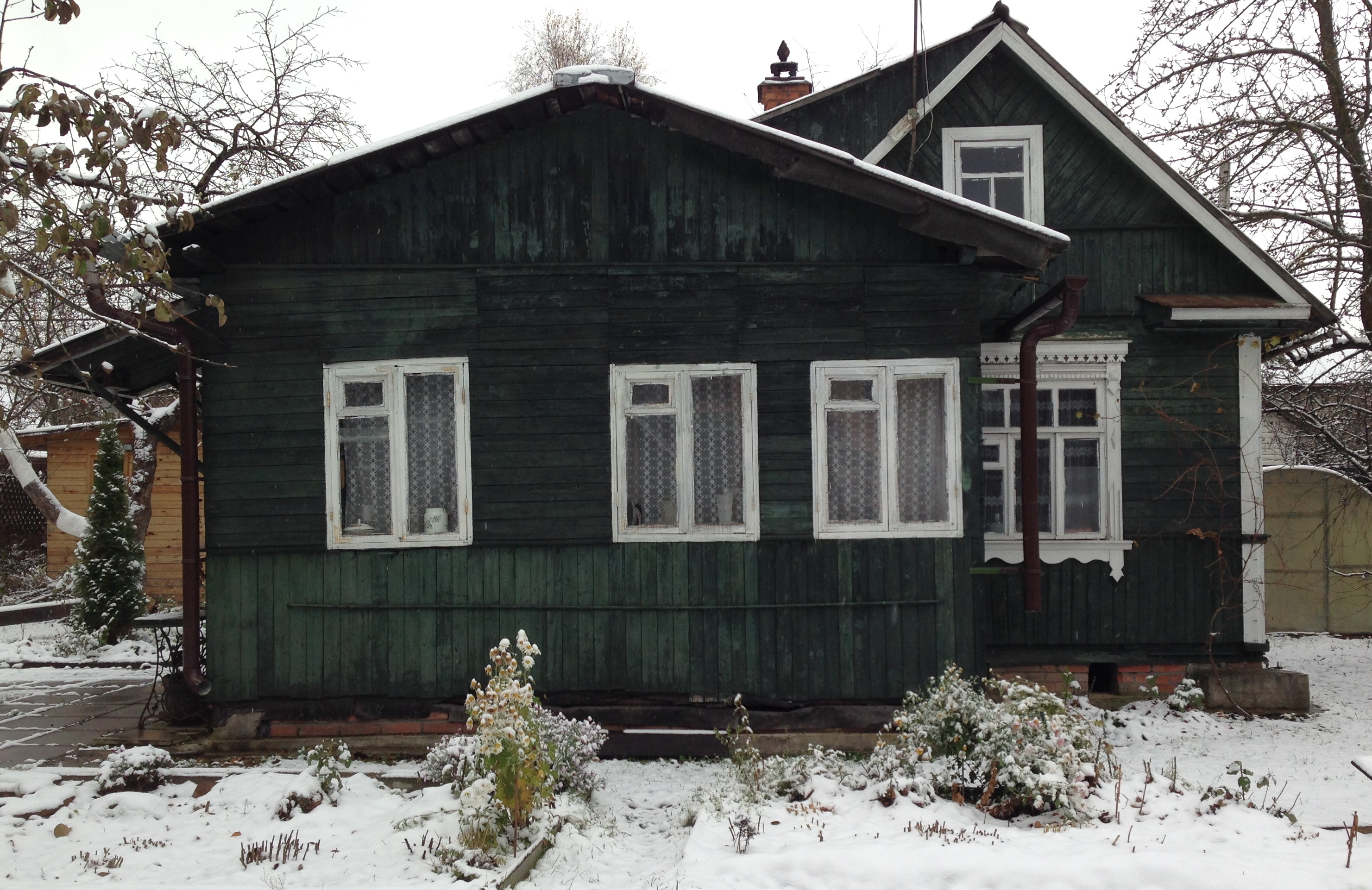 Winter at Soviet Dacha
