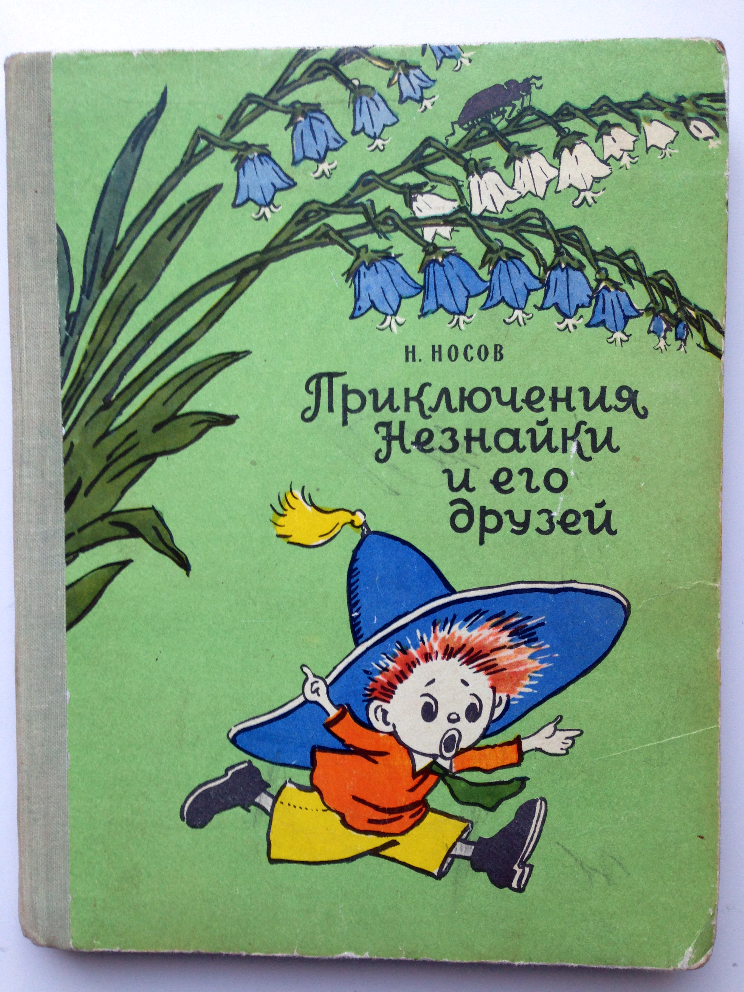 Dunno's Adventures by Nosov with Laptev's illustrations